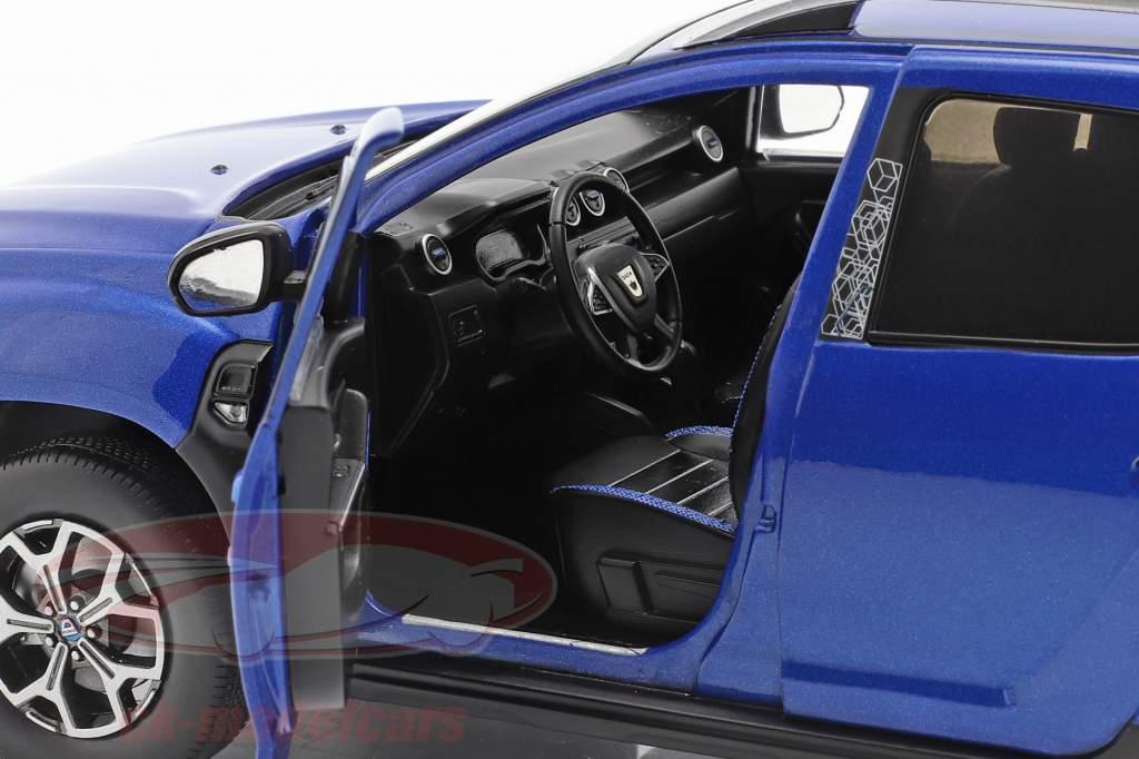 Dacia Duster MK II Anno di costruzione 2018 cosmos blu metallico 1:18 Solido