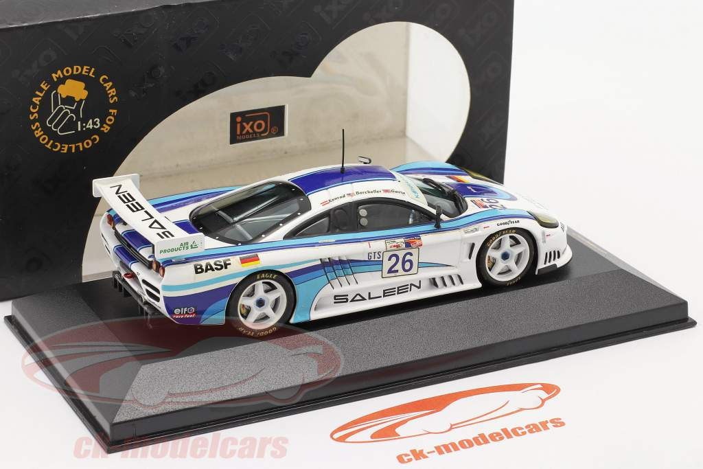 Saleen S7 #26 Sebring vincitore Class 2001 Gavin, Borcheller, Konrad 1:43 Ixo