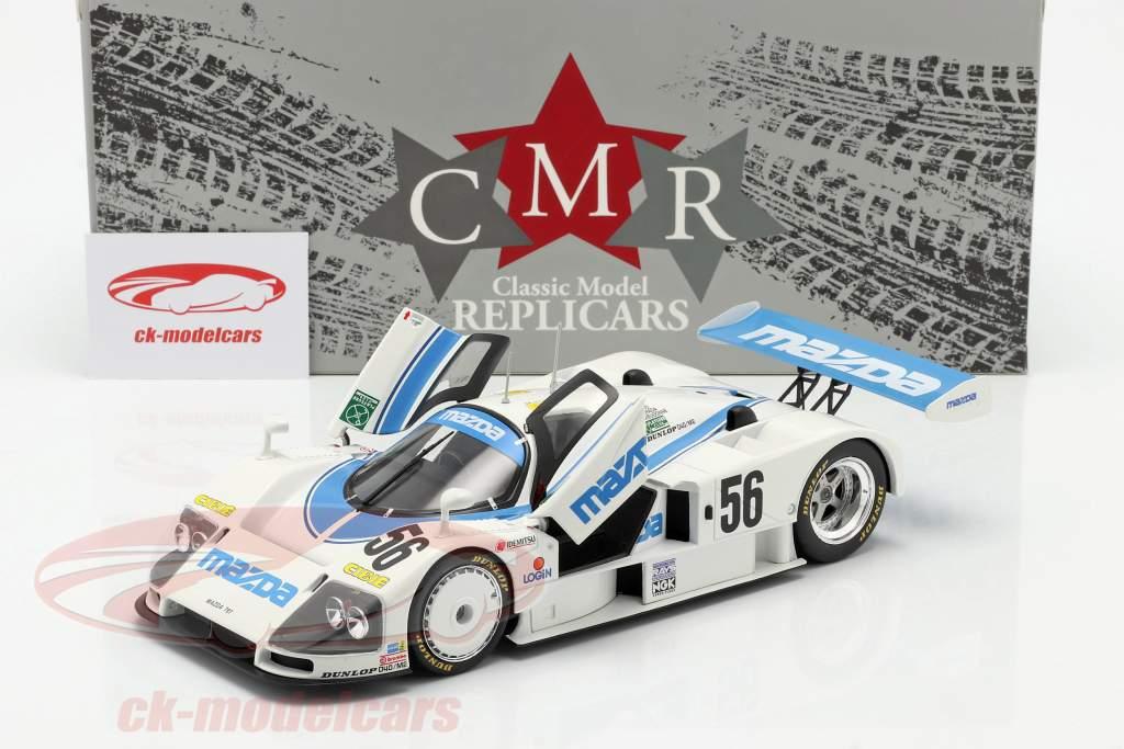 Mazda 787 #56 8º 24h LeMans 1991 Yorino, Terada, Dieudonne 1:18 CMR