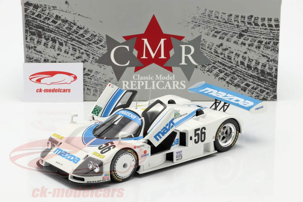 Mazda 787 #56 8e 24h LeMans 1991 Yorino, Terada, Dieudonne 1:18 CMR