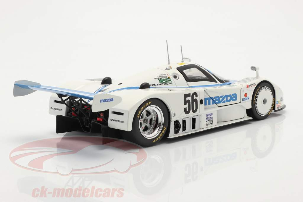 Mazda 787 #56 8th 24h LeMans 1991 Yorino, Terada, Dieudonne 1:18 CMR