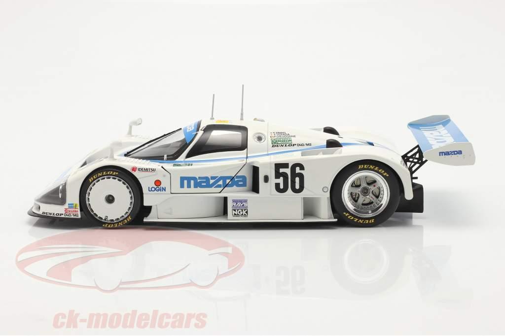 Mazda 787B #56 8e 24h LeMans 1991 Yorino, Terada, Dieudonne 1:18 CMR