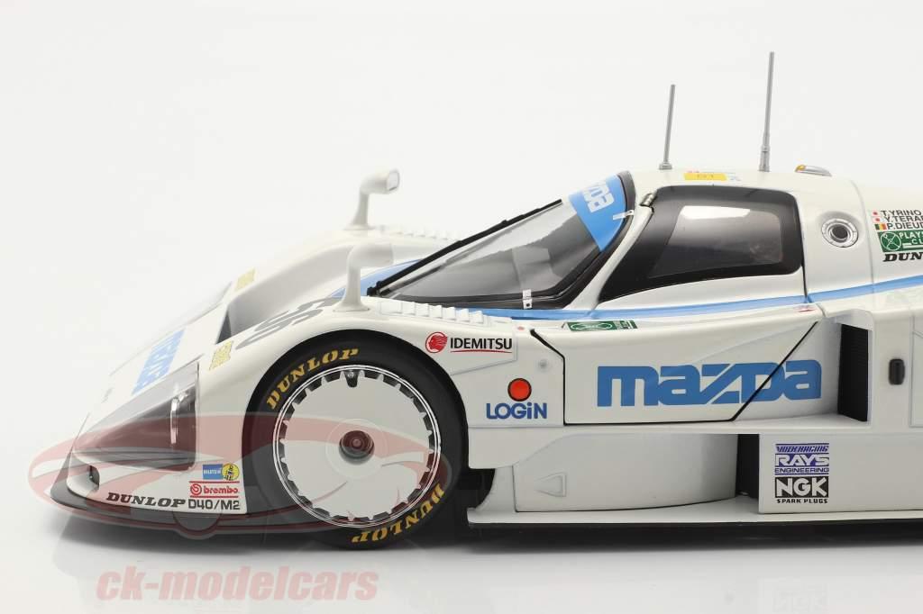 Mazda 787B #56 8-е 24h LeMans 1991 Yorino, Terada, Dieudonne 1:18 CMR