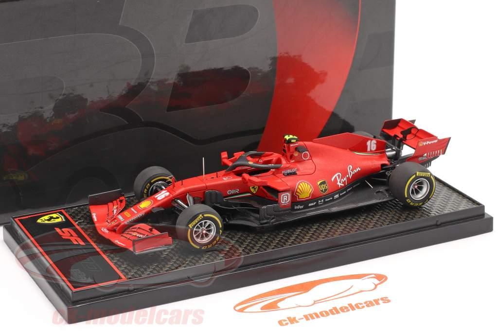 Charles Leclerc Ferrari SF1000 #16 2 ° austriaco GP formula 1 2020 1:43 BBR