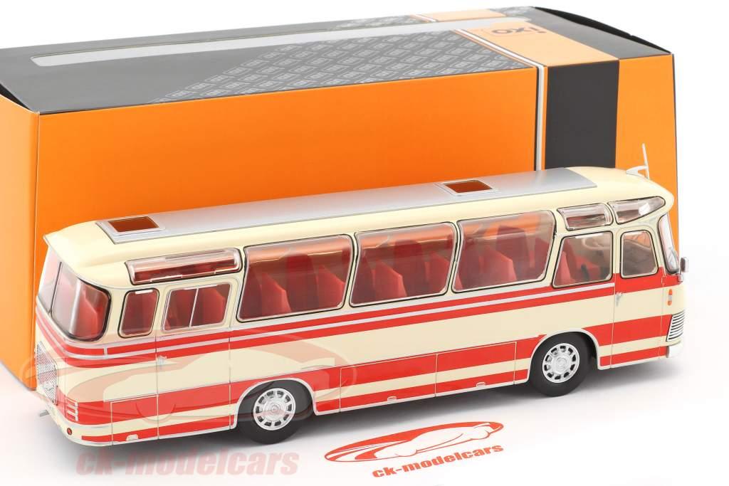 Neoplan NH 9L bus år 1964 beige / rød 1:43 Ixo / 2. plads valg