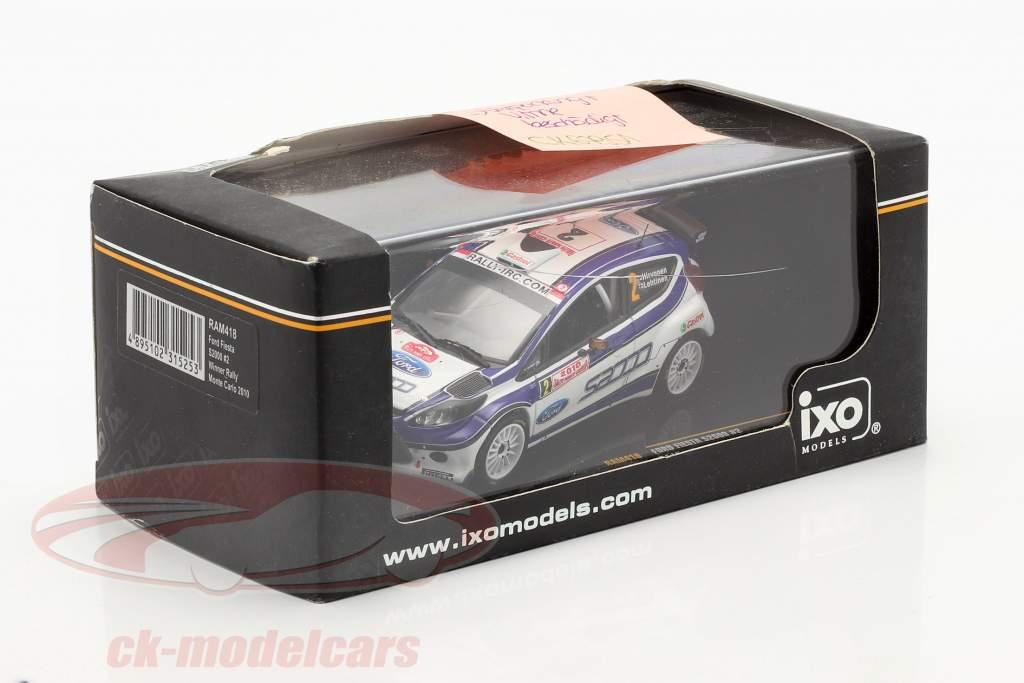 Ford Fiesta S2000 #2 Hirvonen, Lehtinen rally Monte Carlo 2010 1:43 Ixo / 2. scelta