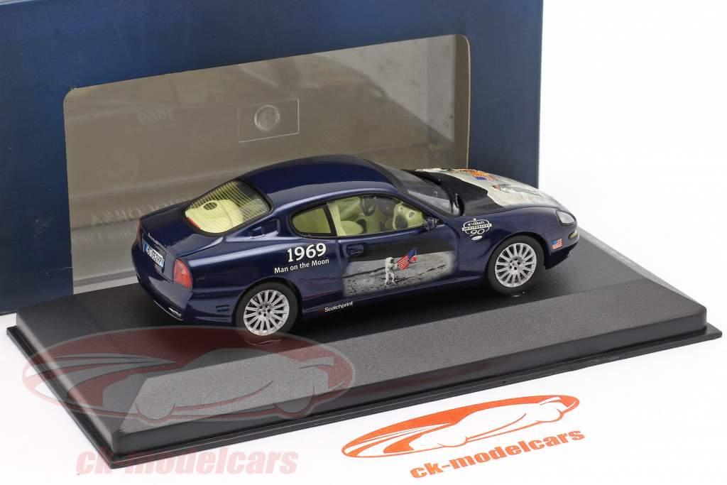 Maserati Coupe Cambiocorsa an 2002 bleu 1:43 Ixo
