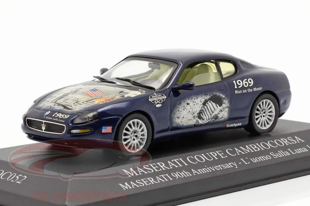 Maserati Coupe Cambiocorsa year 2002 blue 1:43 Ixo