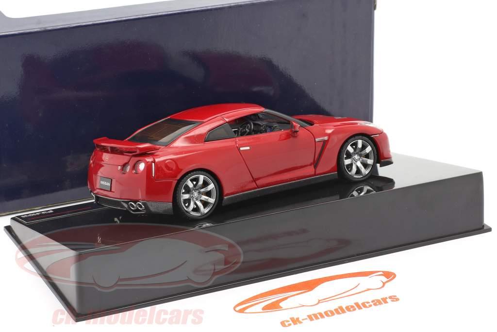 Nissan GT-R R35 año 2007 rojo 1:43 Fujimi