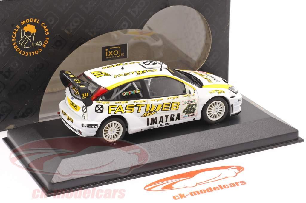Ford Focus WRC #46 Rallye Monza 2006 Rossi, Cassina 1:43 Ixo