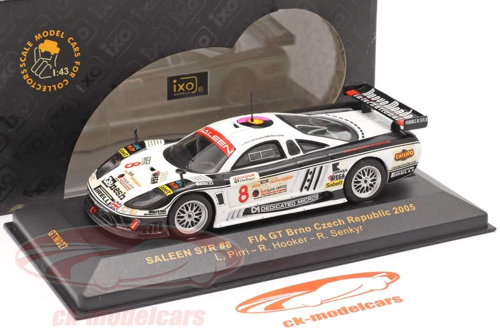 Saleen S7R #8 FIA GT Brno Czech Republic 2005 Pirri, Hooker, Senkyr 1:43 Ixo