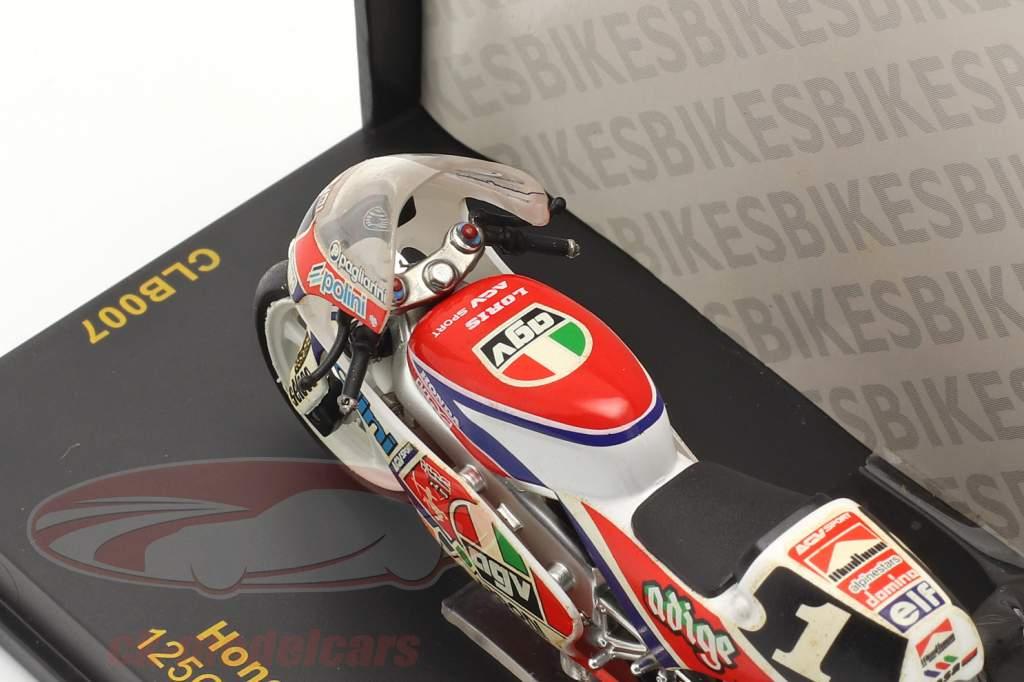 Loris Capirossi Honda RS125 #1 World Champion 125cc 1991 1:24 Ixo