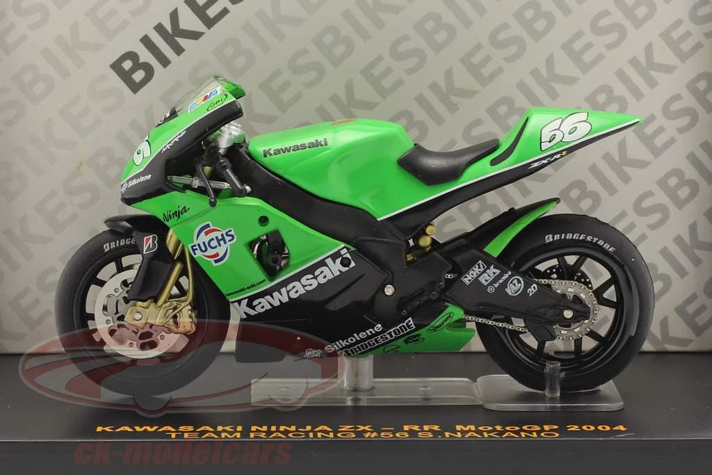 Shinya Nakano Kawasaki Ninja ZX-RR #56 Moto GP 2004 1:24 Ixo