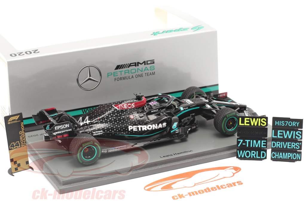 L. Hamilton Mercedes-AMG F1 W11 #44 vinder tyrkisk GP F1 Verdensmester 2020 1:43 Spark