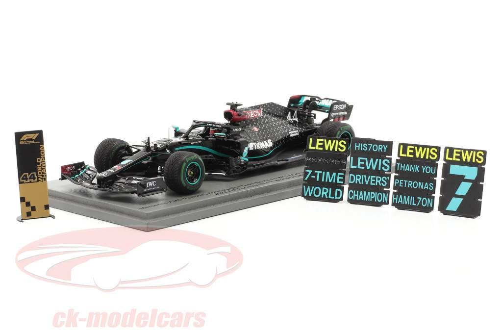 L. Hamilton Mercedes-AMG F1 W11 #44 winnaar Turks GP F1 Wereldkampioen 2020 1:43 Spark