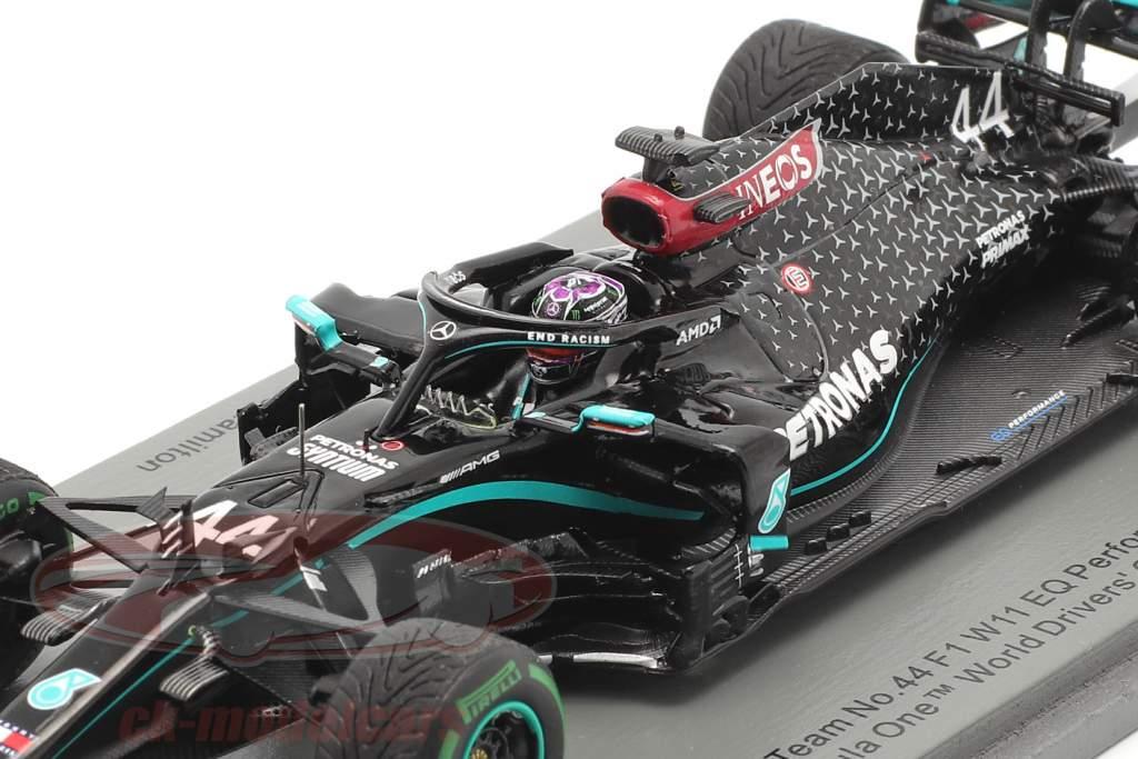 L. Hamilton Mercedes-AMG F1 W11 #44 Sieger Türkei GP F1 Weltmeister 2020 1:43 Spark