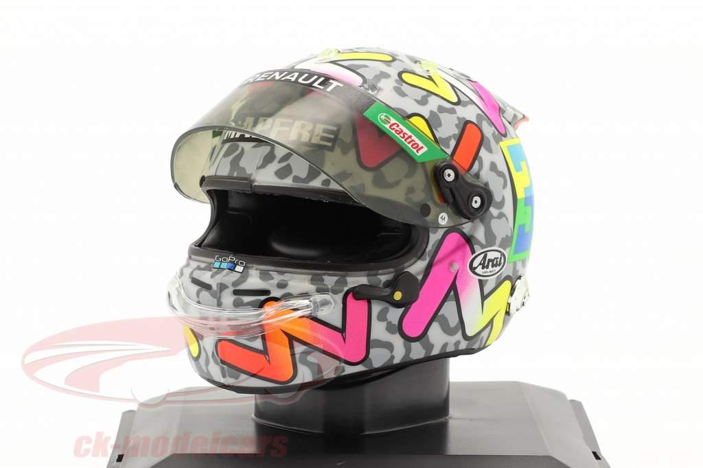Daniel Ricciardo #3 Renault DP World F1 Team formule 1 2020 helm 1:5 Spark