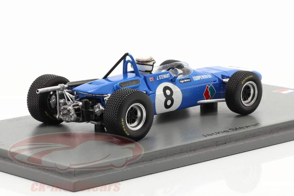 Jackie Stewart Matra MS5 #8 Winnaar GP de Pau formule 2 1968 1:43 Spark