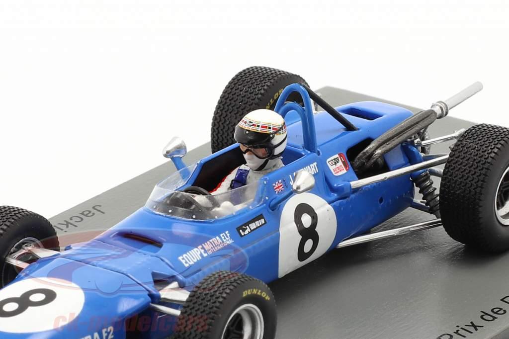 Jackie Stewart Matra MS5 #8 Vencedora GP de Pau Fórmula 2 1968 1:43 Spark