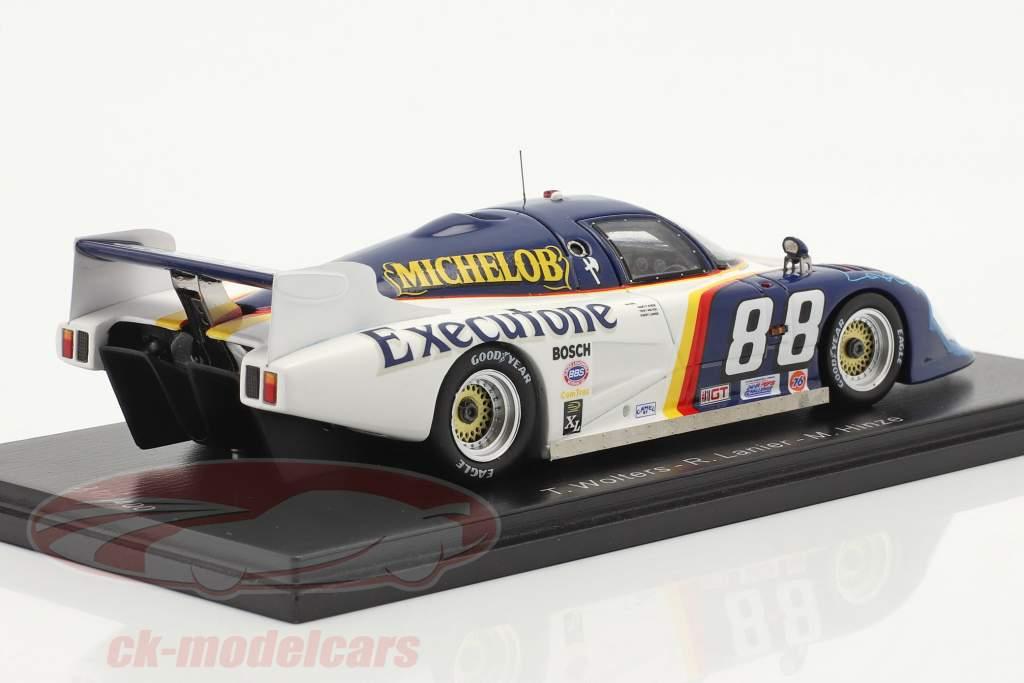 March 83G #88 2e 24h Daytona 1983 Wolters, Lanier, Hinze 1:43 Spark