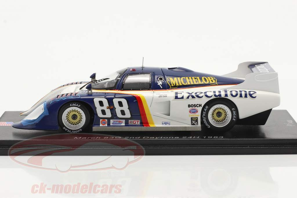 March 83G #88 2do 24h Daytona 1983 Wolters, Lanier, Hinze 1:43 Spark