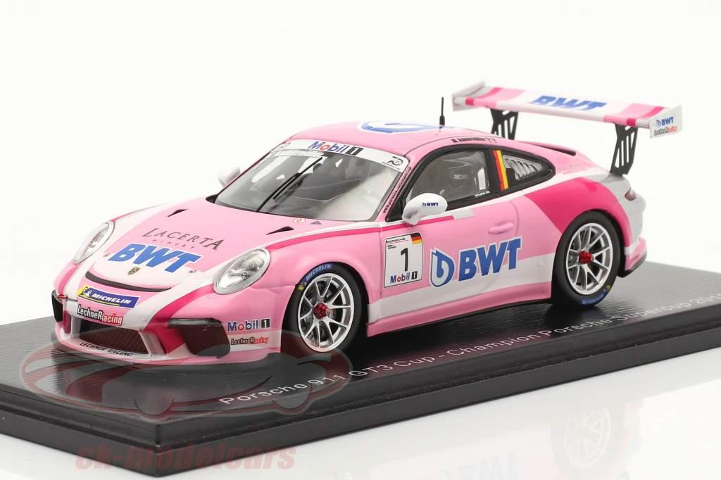 Porsche 911 GT3 Cup #1 Porsche Supercup campione 2018 M. Ammermüller 1:43 Spark