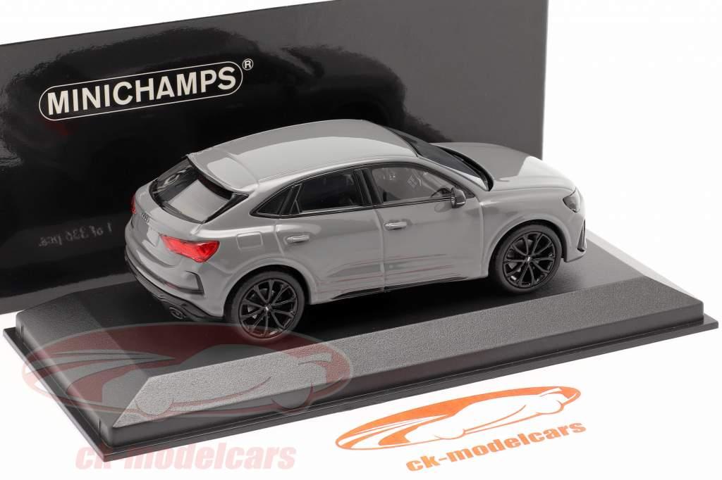Audi RS Q3 Sportback (F3) Ano de construção 2019 nardo cinza 1:43 Minichamps