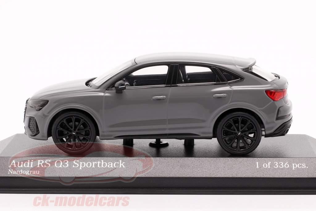 Audi RS Q3 Sportback (F3) Anno di costruzione 2019 nardo grigio 1:43 Minichamps