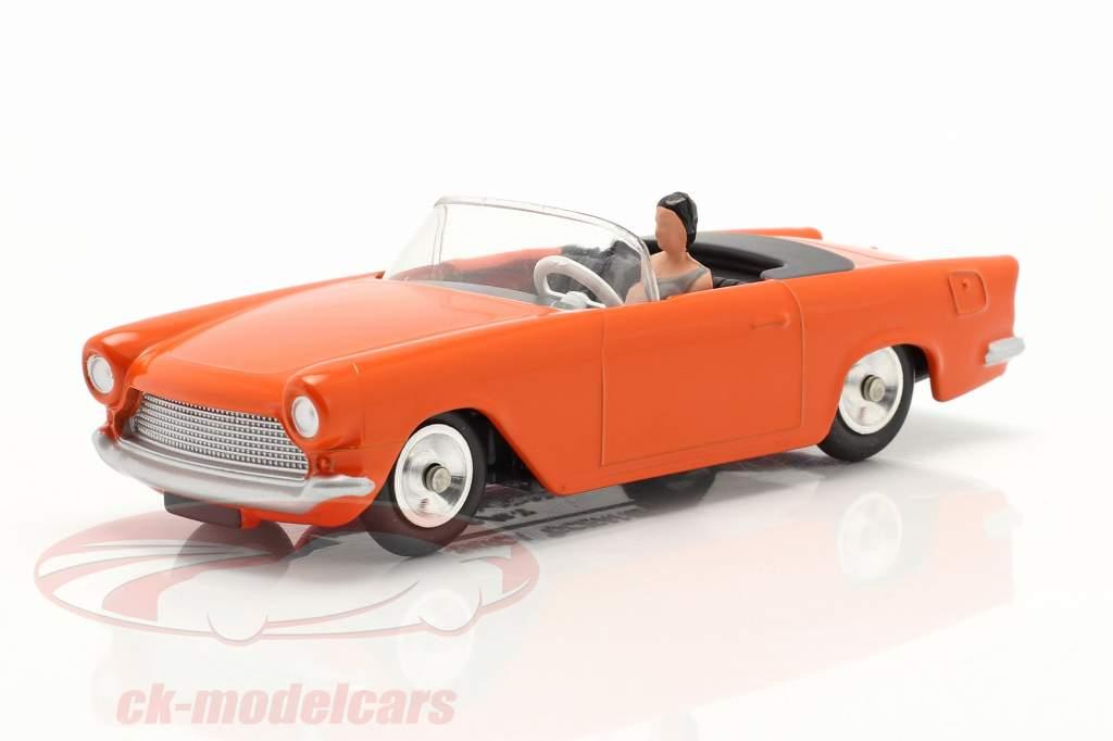 Simca Oceane Conversível Ano de construção 1958 laranja 1:43 Solido