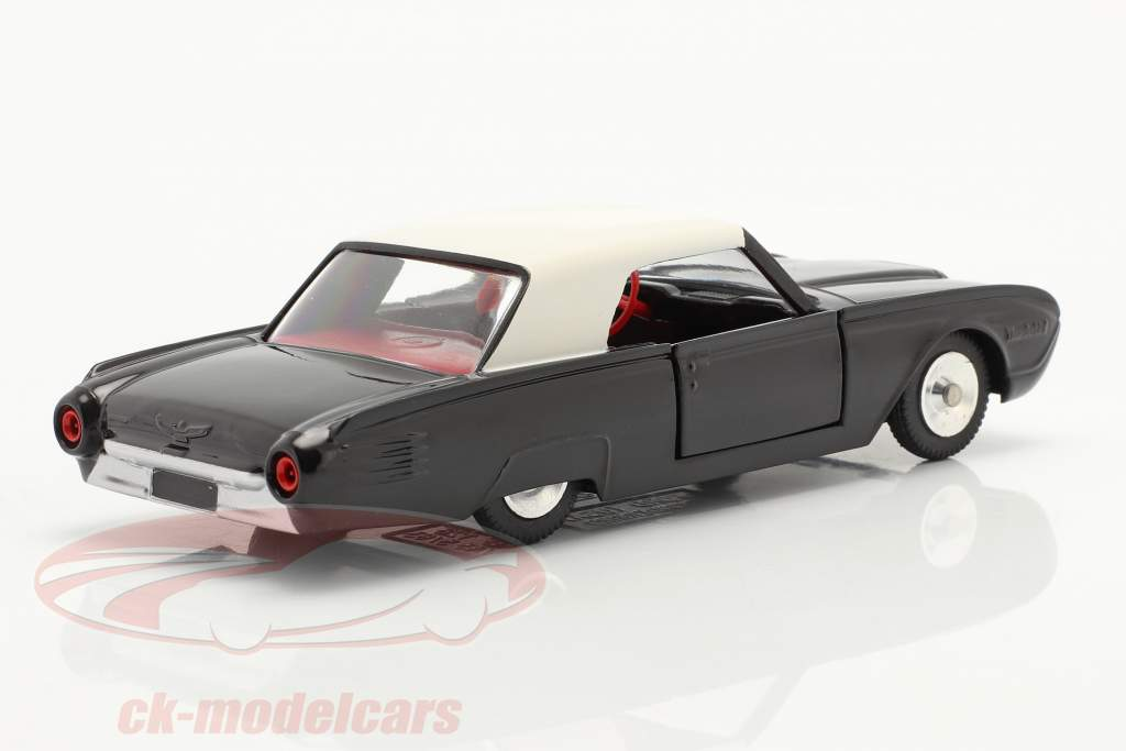 Ford Thunderbird Coupe year 1962 black / white 1:43 Solido