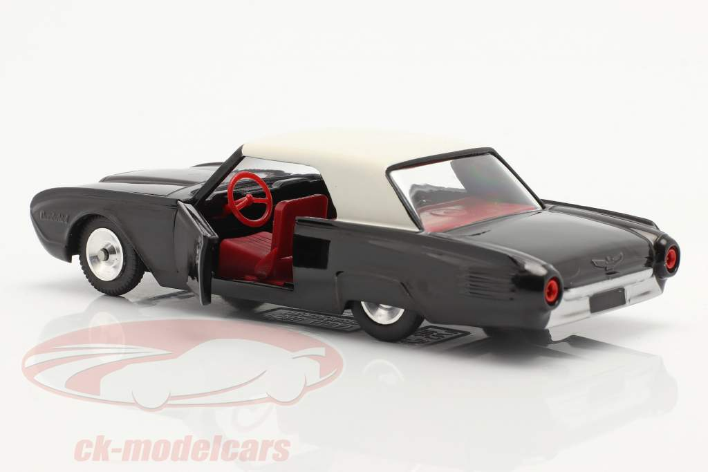 Ford Thunderbird Coupe Byggeår 1962 sort / hvid 1:43 Solido