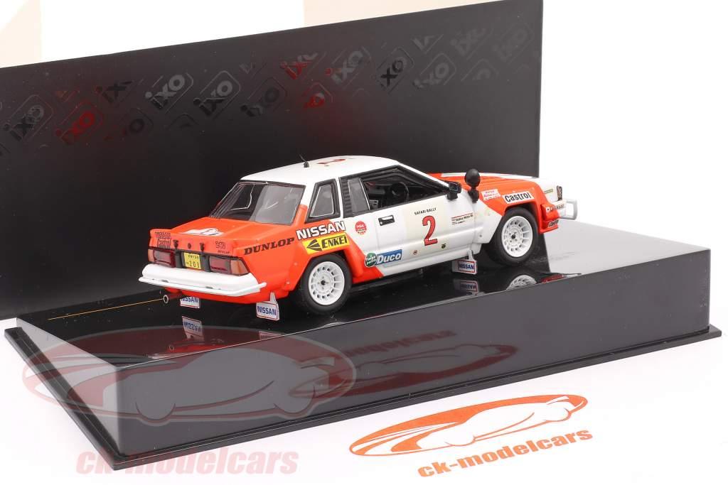 Nissan 240 RS #2 corrida Safari 1984 Mehta, Combes 1:43 Ixo