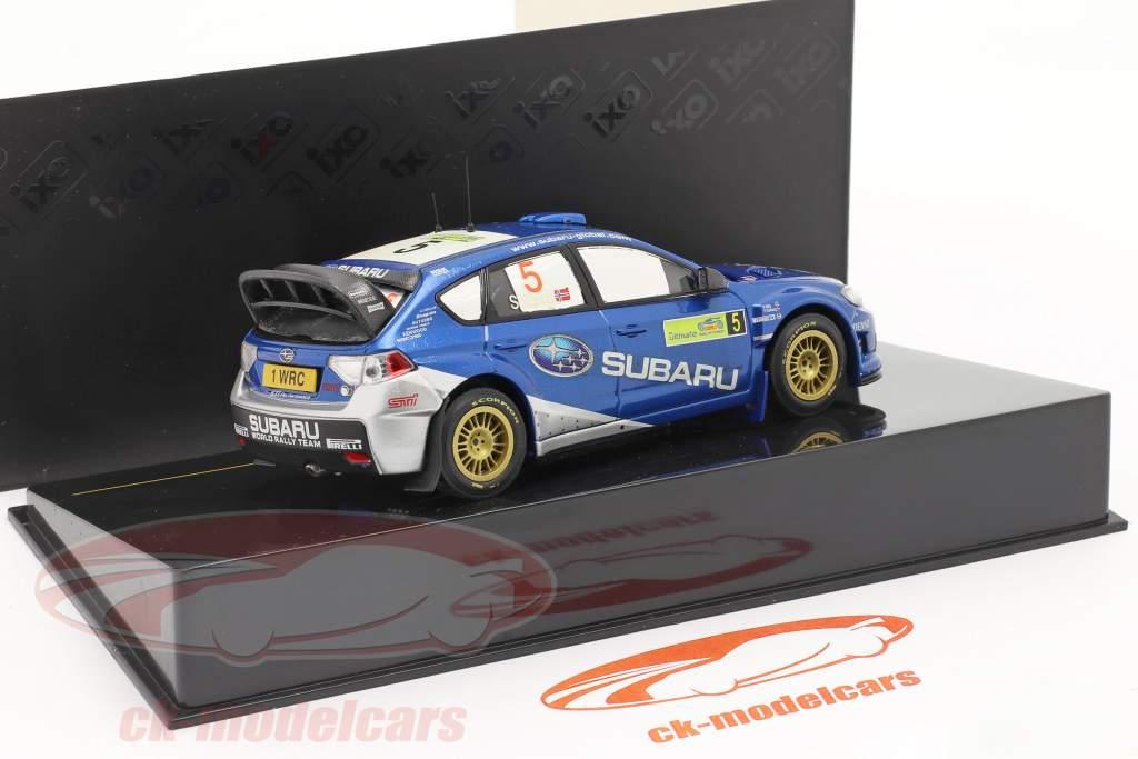 Subaru Impreza WRC #5 se rallier Grèce 2008 Solberg, Mills 1:43 Ixo