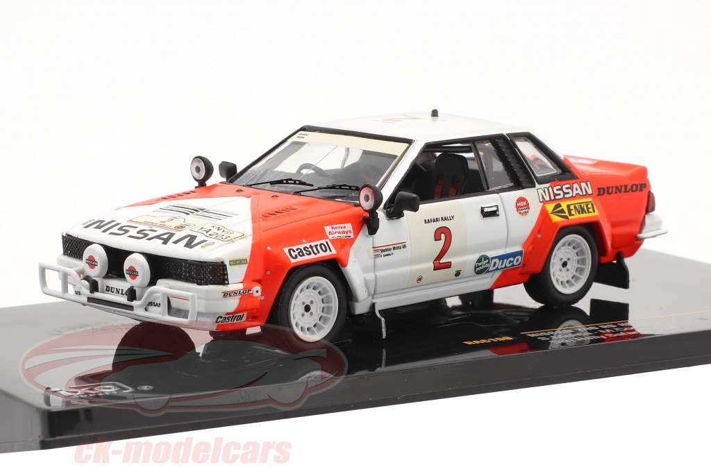 Nissan 240 RS #2 Rallye Safari 1984 Mehta, Combes 1:43 Ixo