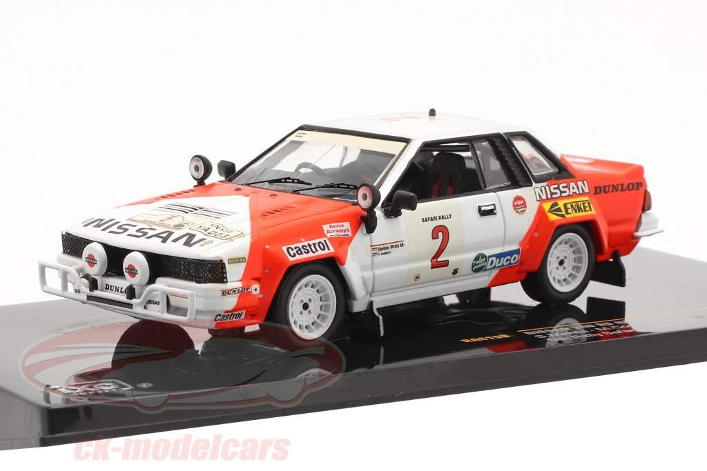 Nissan 240 RS #2 se rallier Safari 1984 Mehta, Combes 1:43 Ixo