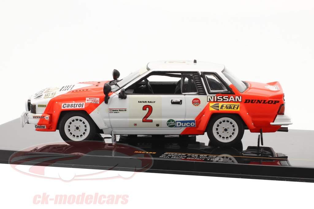 Nissan 240 RS #2 reunión Safari 1984 Mehta, Combes 1:43 Ixo