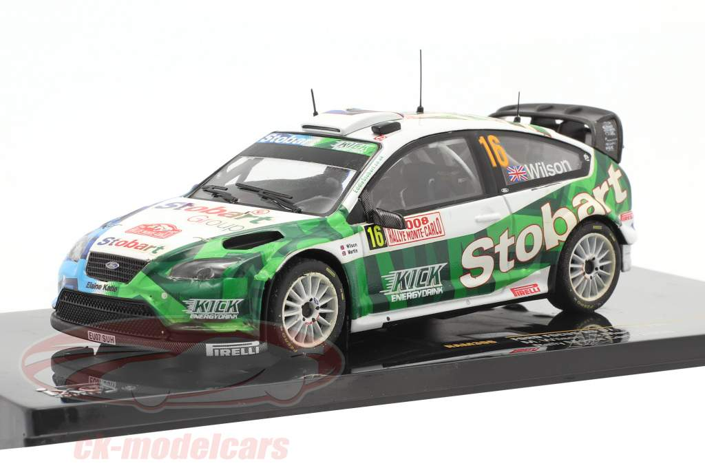 Ford Focus RS 07 WRC #16 samle Monte Carlo 2008 Wilson, Martin 1:43 Ixo