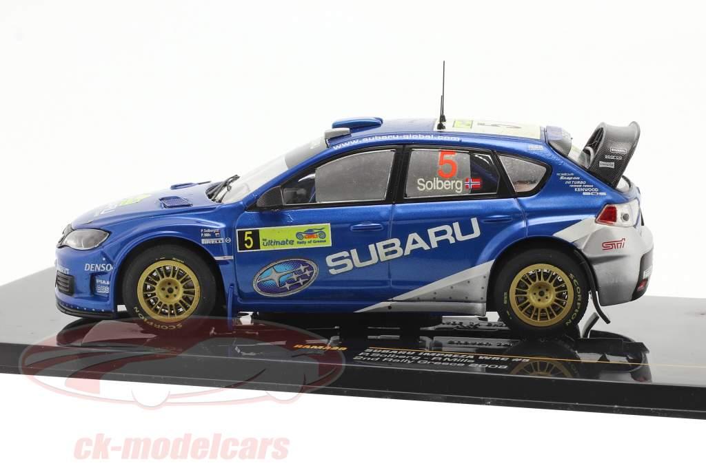 Subaru Impreza WRC #5 rally Greece 2008 Solberg, Mills 1:43 Ixo