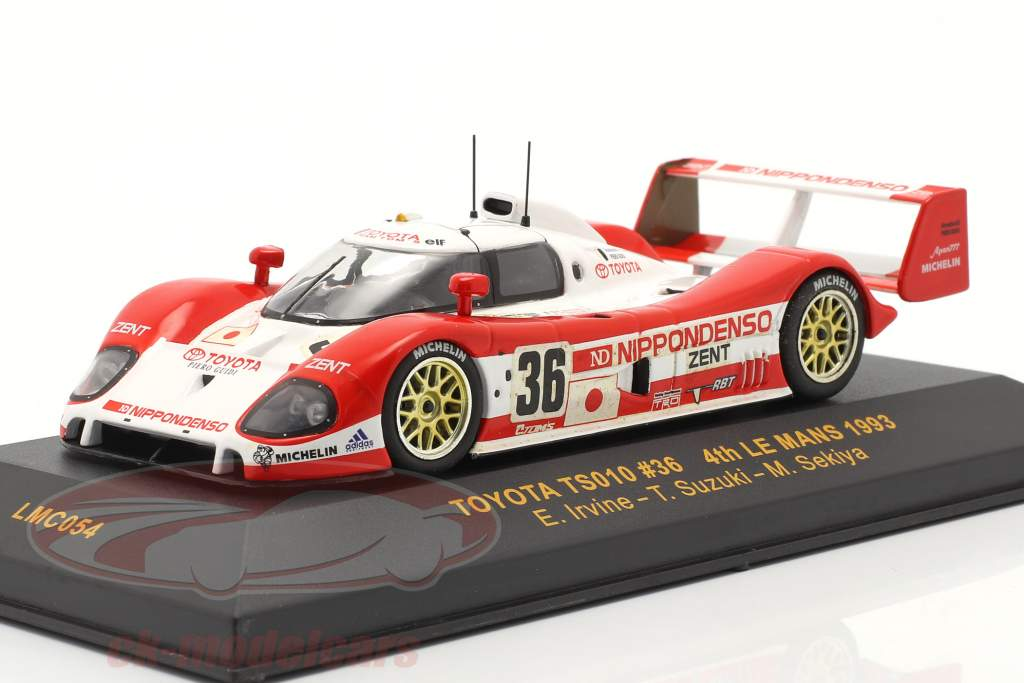 Toyota TS010 #36 LeMans 1993 Irvine, Suzuki, Sekiya 1:43 Ixo