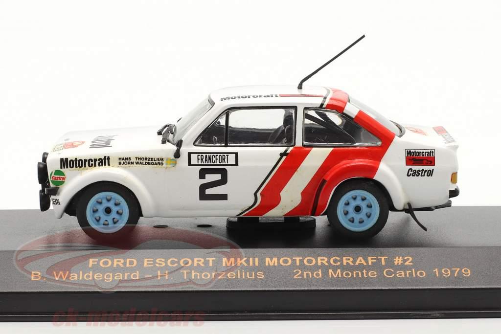 Ford Escort MKII Motorcraft #2 se rallier Monte Carlo 1979 Waldegard, Thorzelius 1:43 Ixo