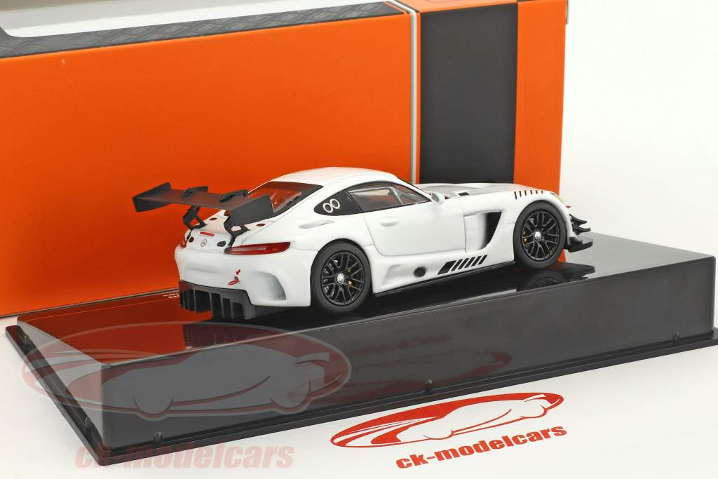 Mercedes-Benz AMG GT3 Race Version white 1:43 Ixo / 2nd choice