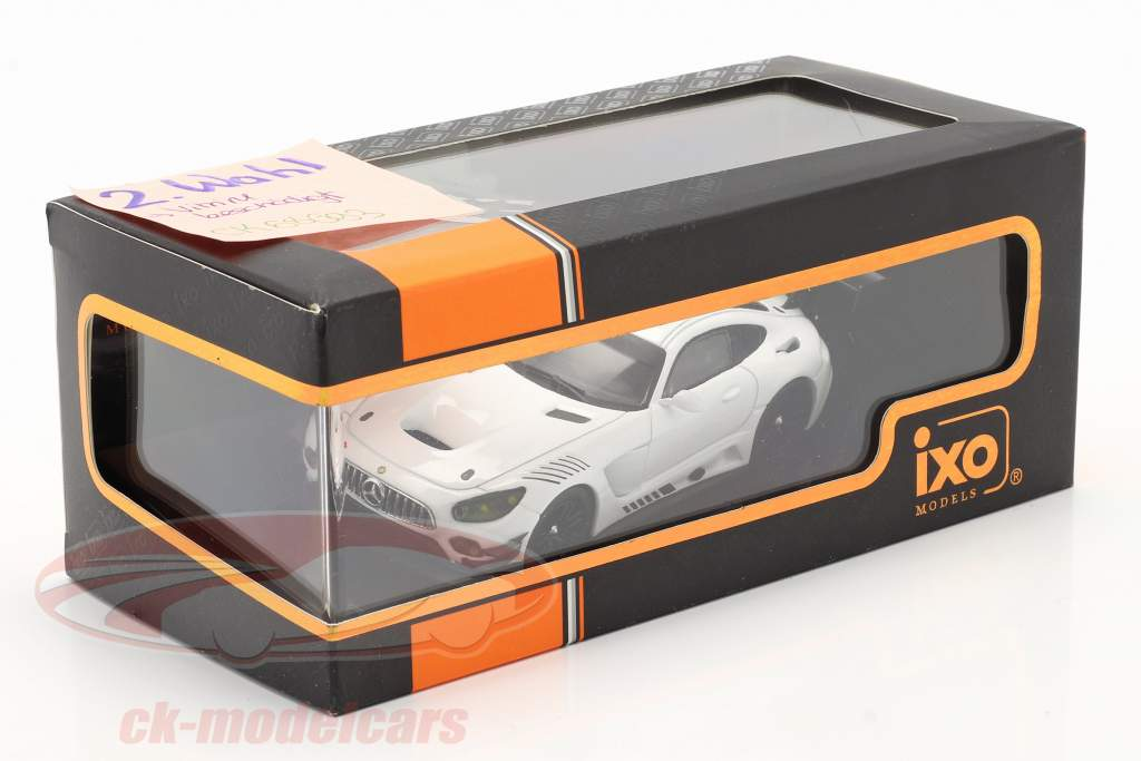 Mercedes-Benz AMG GT3 Race Version weiß 1:43 Ixo / 2. Wahl