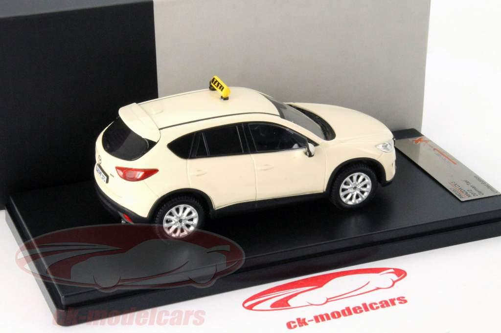 Mazda CX-5 year 2012 taxi 1:43 Premium X / 2nd choice