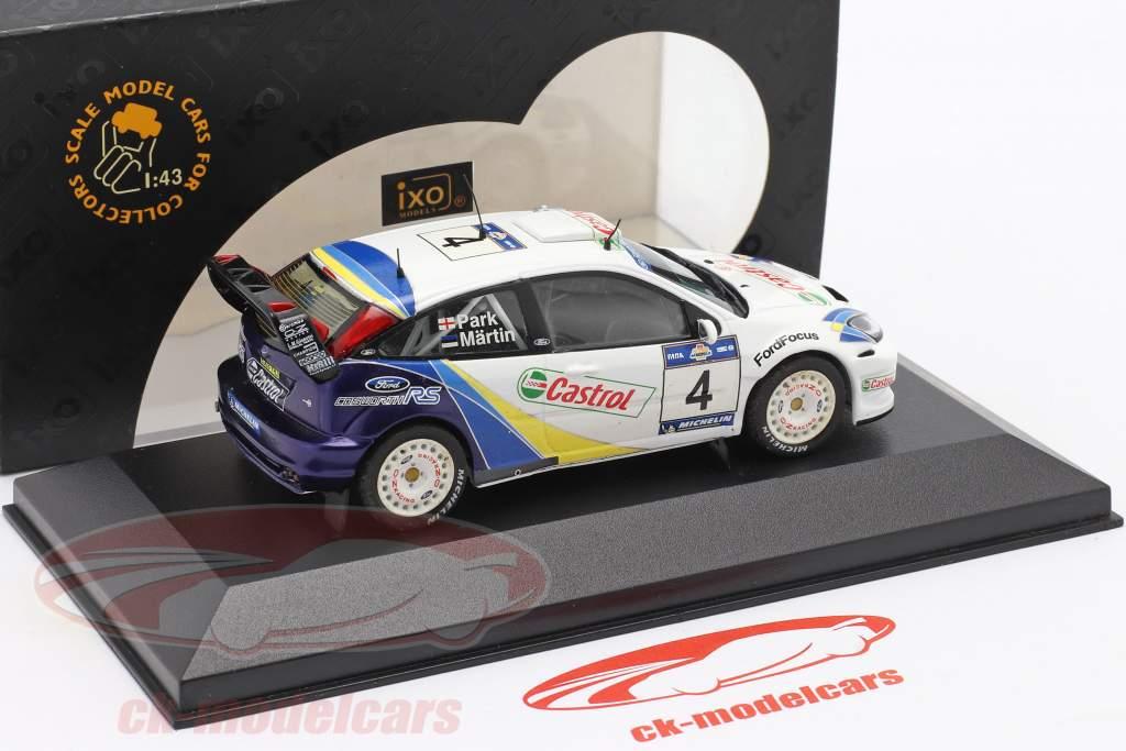 Ford Focus RS WRC EVO3 #4 ganador Acropolis reunión 2003 Martin, Park 1:43 Ixo / 2. elección