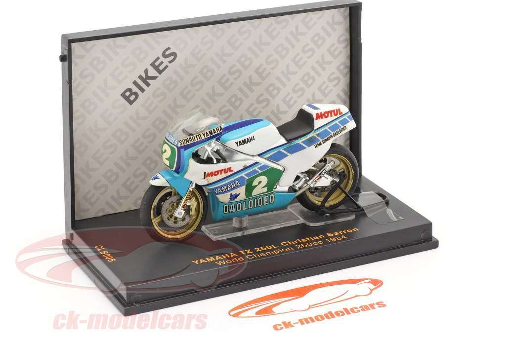 Christian Sarron Yamaha TZ 250L #2 Mundo campeón 250cc 1984 1:24 Ixo / 2. elección