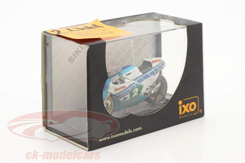 Christian Sarron Yamaha TZ 250L #2 Verden champion 250cc 1984 1:24 Ixo / 2. valg