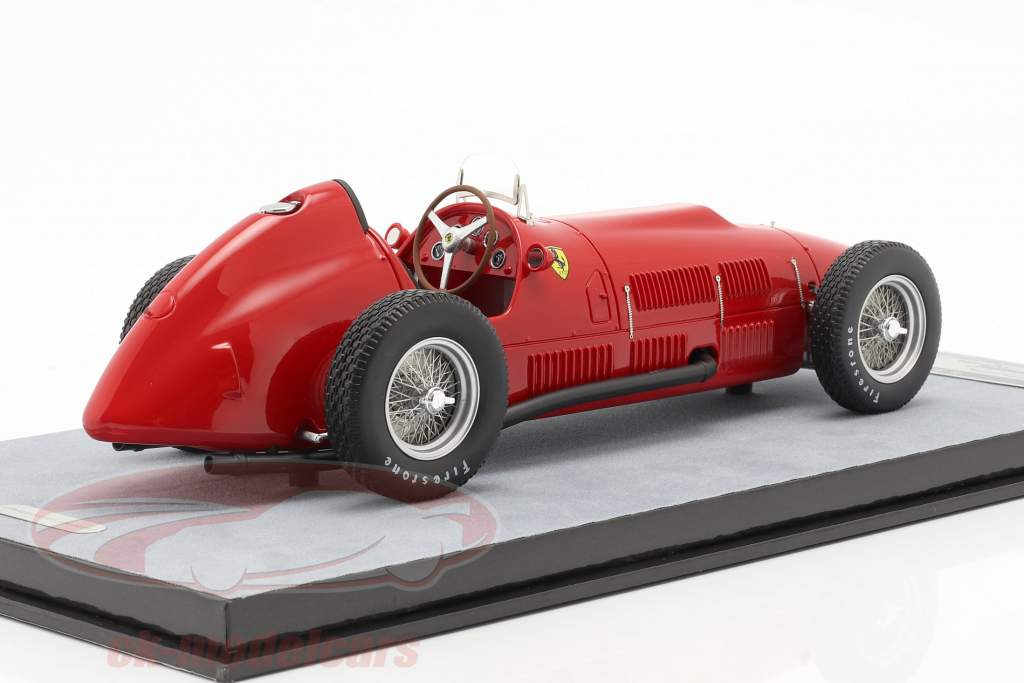 Ferrari 375 Indy stampa versione 1952 racing rosso 1:18 Tecnomodel