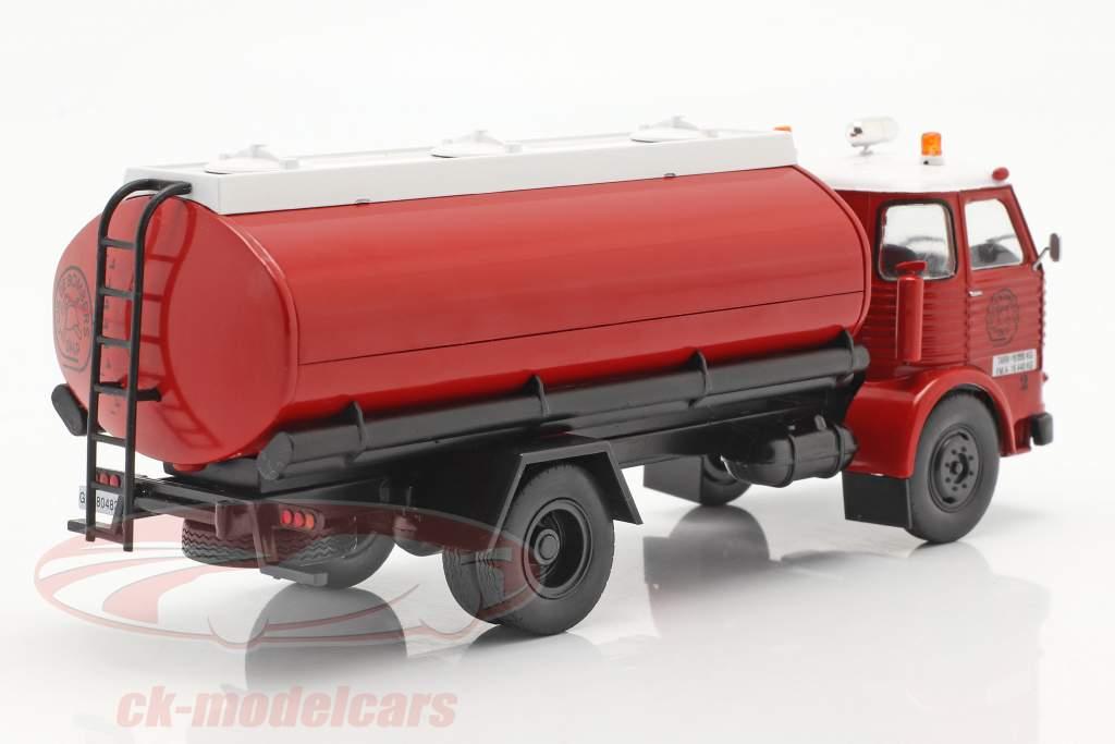 Pegaso Comet 1095 corpo de Bombeiros Espanha 1968 vermelho / Branco 1:43 Altaya