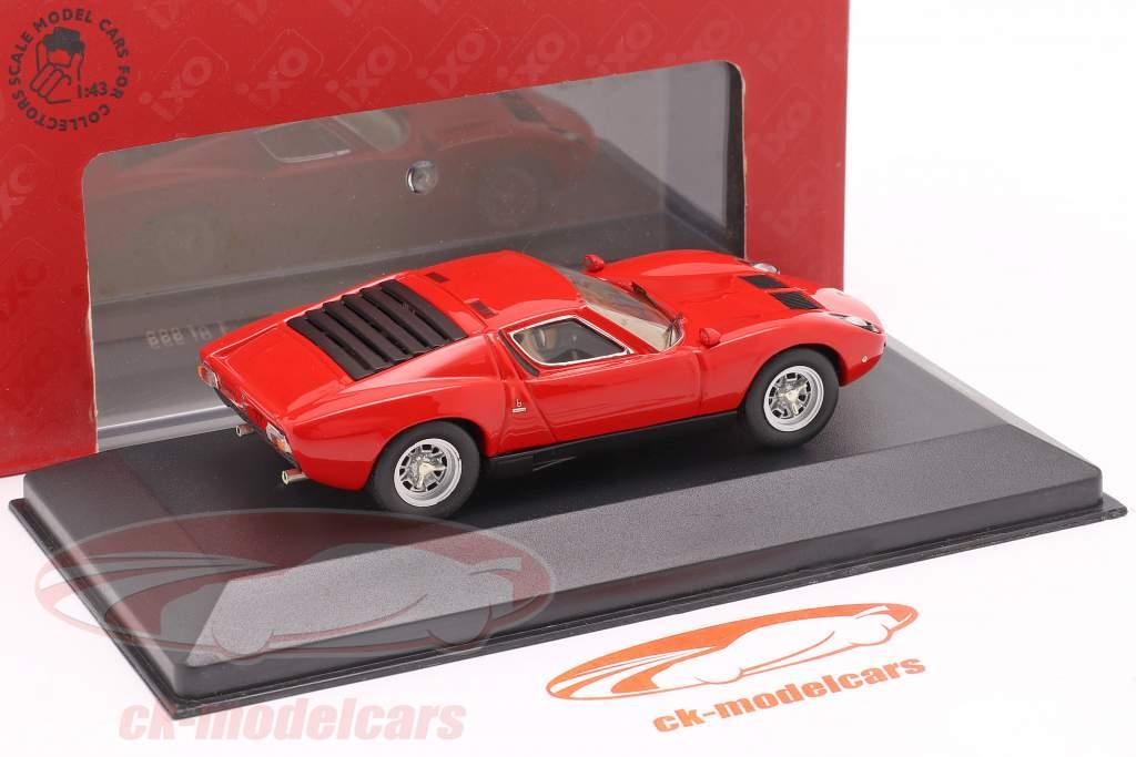 Lamborghini Miura P400 SV year 1972 red 1:43 Ixo / 2nd choice