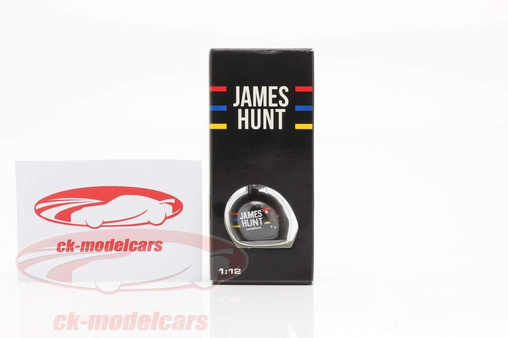 James Hunt McLaren M23 formule 1 Wereldkampioen 1976 Zeer belangrijke ketting helm 1:12 MBA